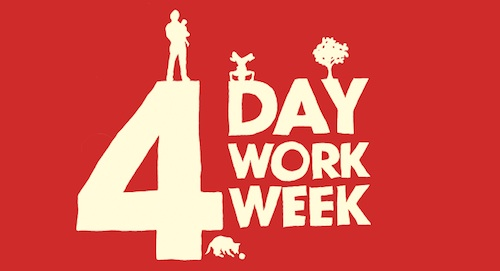 Lets Say You Shifted Your Organization To People Working 4 Days A Week 10 Hours A Day Every Weekend Is A Three Day Weekend Could This Help Employee