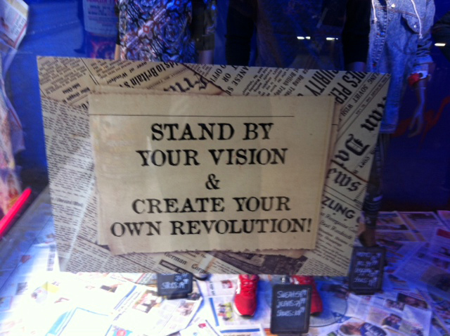 Stand By Your Vision and Create Your Own Revolution