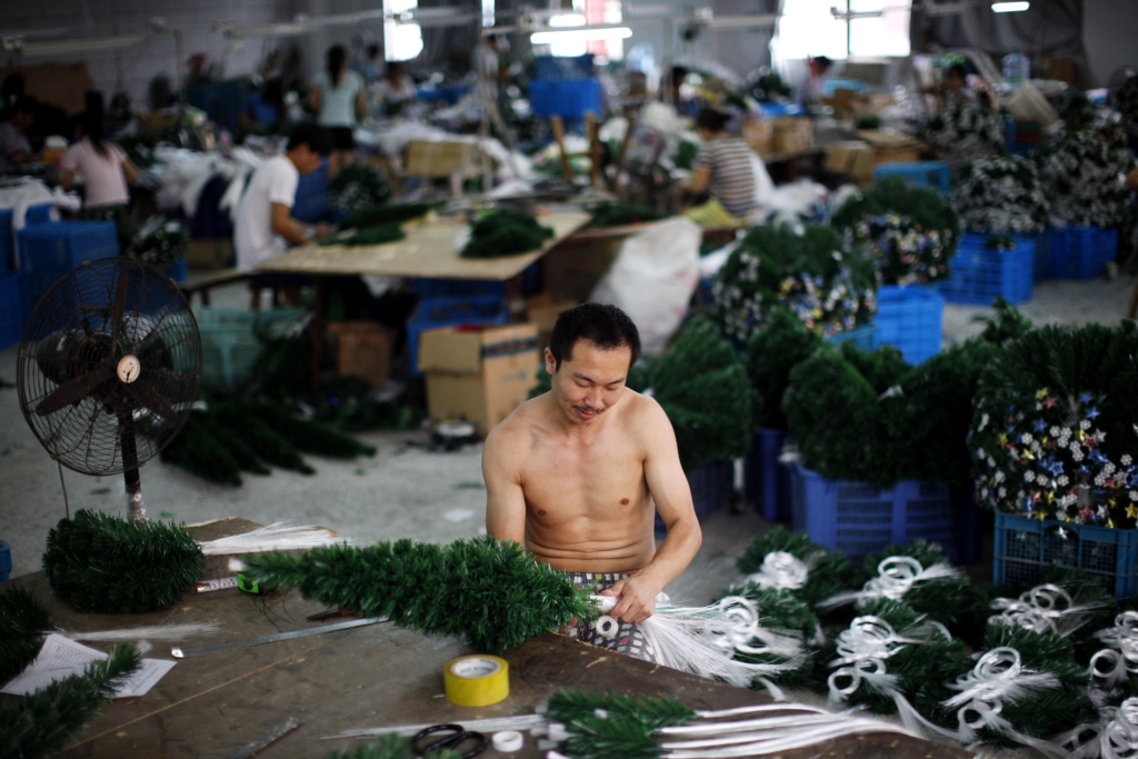Yiwu Is Where Christmas Comes From