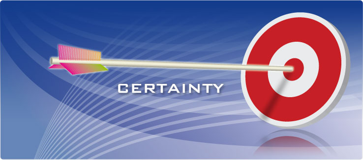 Establishing Certainty