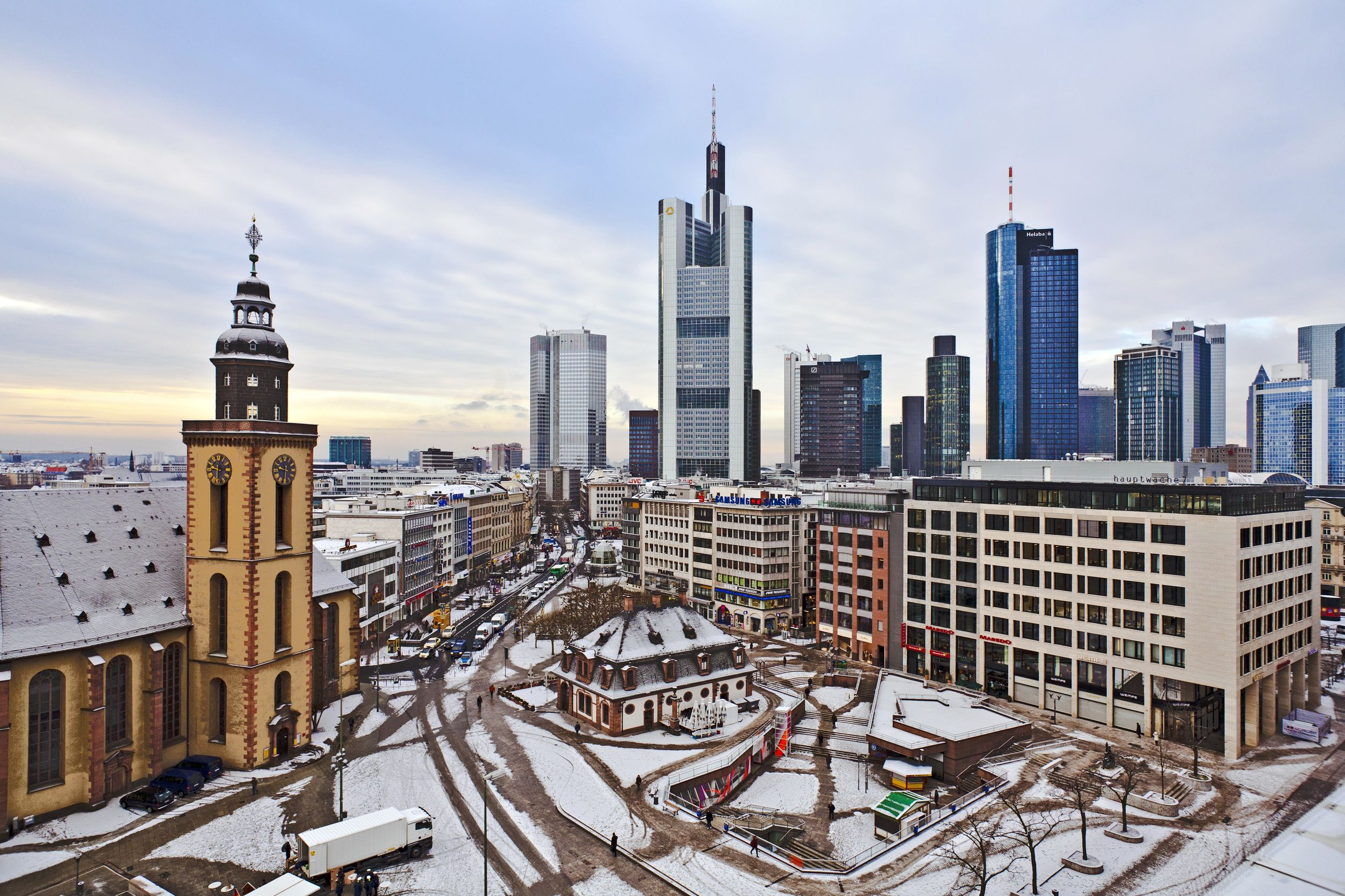 Frankfurt Germany Sustainable City