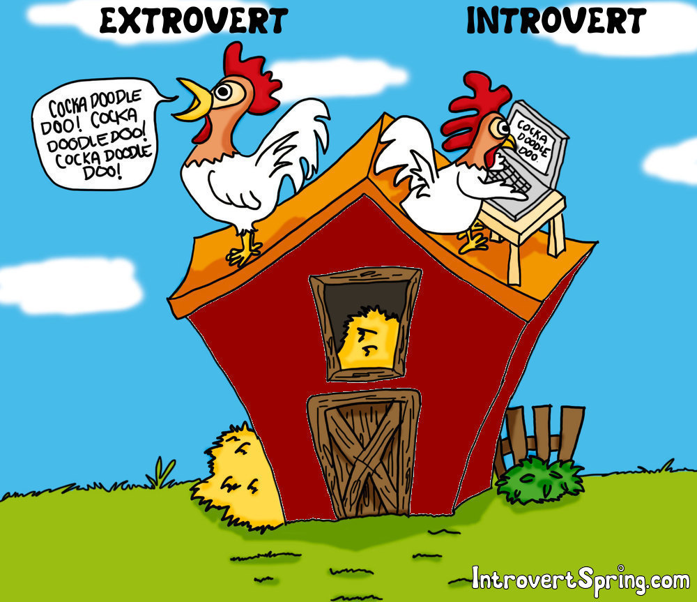 Introverts will someday rule the business world