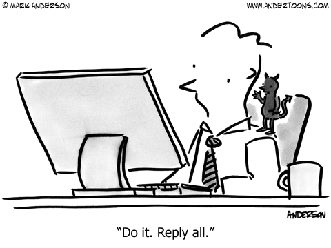 People's relationship to e-mail