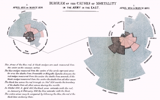 Florence Nightingale Data Visualization