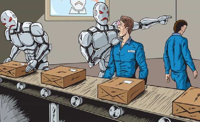 It might be worse if a robot doesn't steal your job