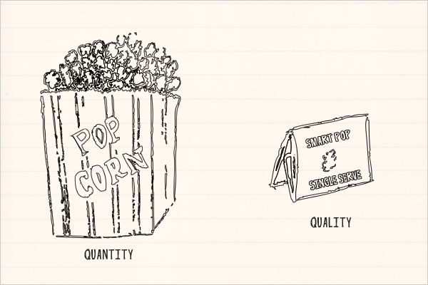 Quantity vs. Quality At Work