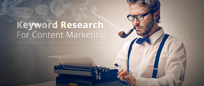 Content marketing keyword research