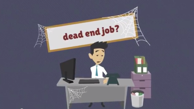 Collocation of the week: a dead-end job